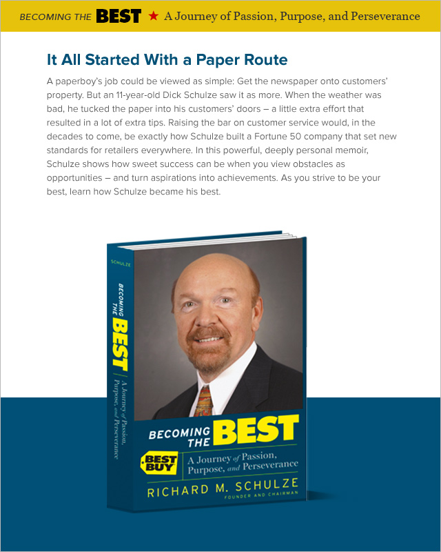 Dick Schulze, Best Buy founder