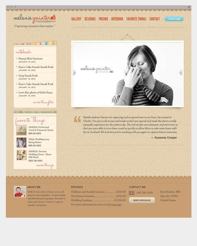 Melanie Painter Site