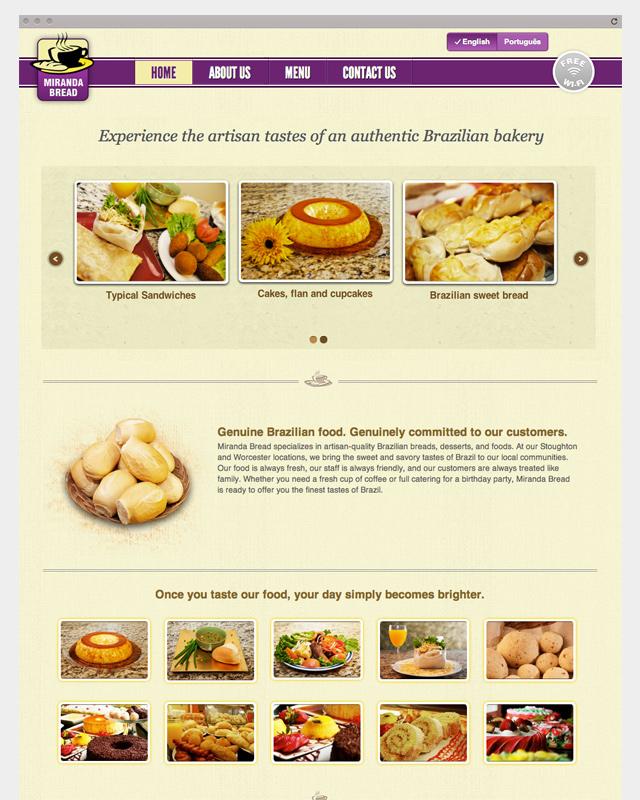 Miranda Bread - Home Page